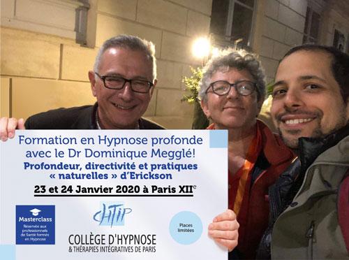 Formation Hypnose Profonde, Hypnose Directe avec Dominique MEGGLE