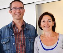 Arnaud Kergroach et Nathalie Le Gall, deux infirmiers anesthésistes du Centre hospitalier de Cornouaille