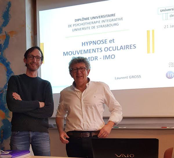 Guillaume BELOURIEZ et Laurent GROSS au Diplôme Universitaire