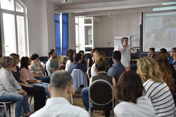 """Master Class Laurent Gross """"Retour aux fondamentaux de l'Hypnose"""". Juin 2017"""